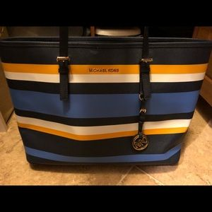 One of kind Michael Kors signature large tote